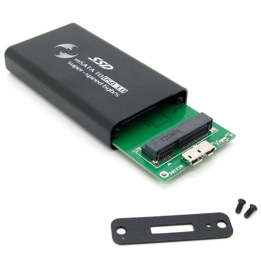 Pxyelec - Carcasa para Disco Duro Externo mSATA a USB 3.0 ...
