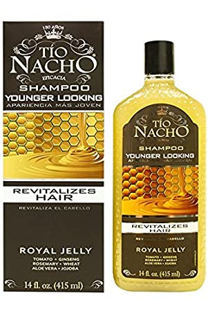 amazoncom tio nacho younger looking shampoo 14 oz revitalize hair with royal jelly beauty