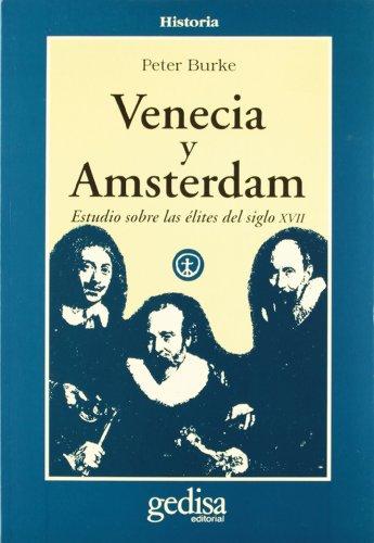 Descargar Libro Venecia Y Ámsterdam Peter Burke