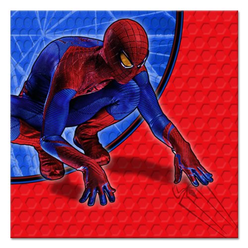 The Amazing Spider Man Beverage Napkins : package of 16