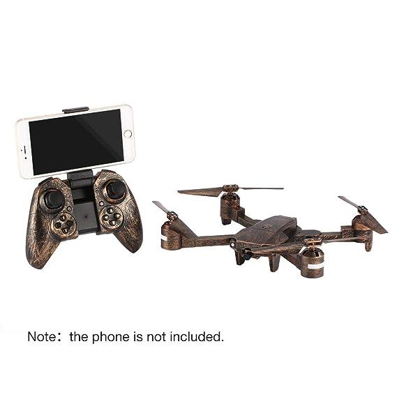 GreatWall Attop X-PACK1 RC Drone 720P Cámara Gran Angular WiFi FPV ...