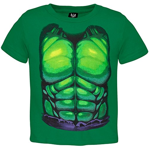 Hulk Outfits (Marvel Incredible Hulk Boy's Hulk Smash Costume, Kelly Green, 2T)