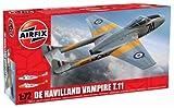Airfix A02058 De Havilland Vampire T.11 Set, 1:72 Scale