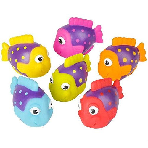 Neliblu Go Fishing! Bath Toys - 12 Pack Squirting Bath Toys 2