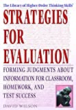 Strategies for Evaluation, David Wilson, 1404204733