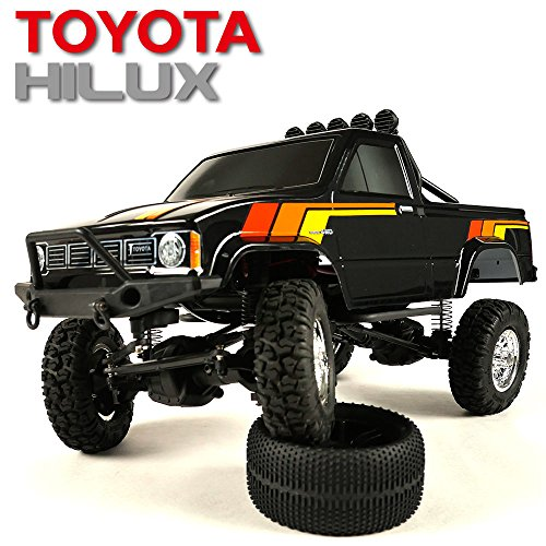 Thunder Tiger TOYOTA HILUX 1/12 PICK-UP TRUCK RTR (BLACK)