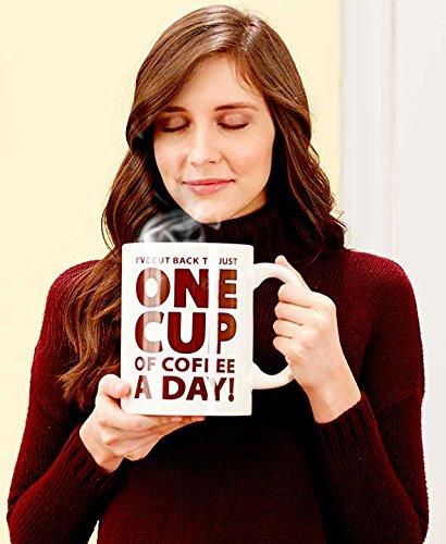 "Giant 64-Oz. ""One Cup"" Coffee Mugs"