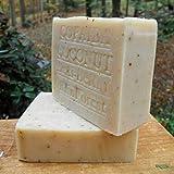 Brazilian Copaiba Soap with Acai Berry Butter and Coconut Milk Soap 7 oz. Handmade!