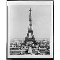 Foto: Torre Eiffel, Exposición Edificios, champ de Mars, troacadero, Exposición de París, 1889