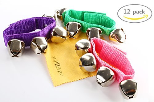 Kazoo Kids Grand - POPLAY Band Wrist Bells,12 PCS