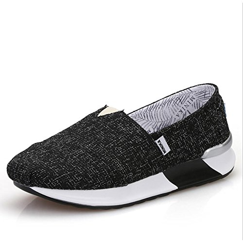 XUE Women's Shoes Canvas Spring Fall Loafers & Slip-Ons Driving Shoes Fitness Shake Shoes Shake Shoes Shaking Shoes Flat Loafers Sneakers Slope Heels Anti-skid Shoes Single Shoes Platform Shoes A XCFp2U