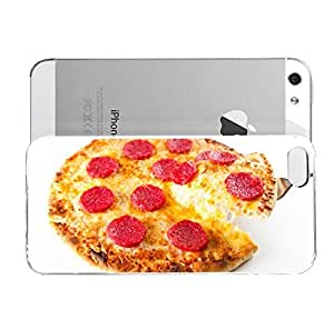 Janmaons iPhone 5/5s Case - Digital Art - Strawberry Pizza Case for RdanC iPhone