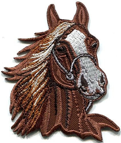 Horse Colt Bronco Filly Mustang Pony Stallion Steed Applique Iron-on Patch S-391 Free Shipping