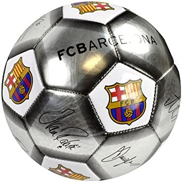F C Barcelona Fútbol oficial mercancía, Deflated Signature Ball ...