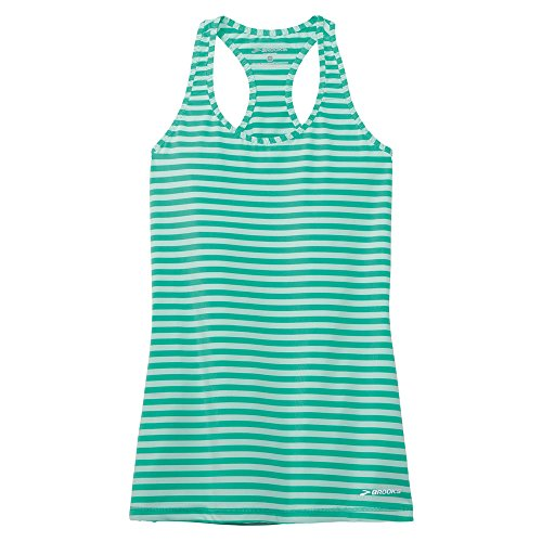 Brooks Mujer Tank Top Bring IT Racerback 220871 Glass Stripe