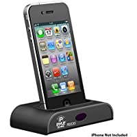 Pyle Home PIDOCK1 Universal iPod/iPhone Docking Station for Audio Output, Charging, Sync with iTunes and Remote Control
