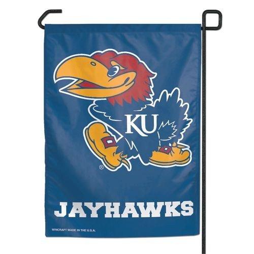 (Wincraft NCAA Kansas Jayhawks Garden Flag, 12