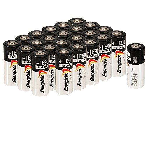 Energizer E90 LR1 N Size, 1.5 Volt Alkaline Batteries [20 pcs]