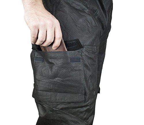 COMPASS RT33039-10-XL Raintek T50 Cargo Rain Pants, Black, X-Large