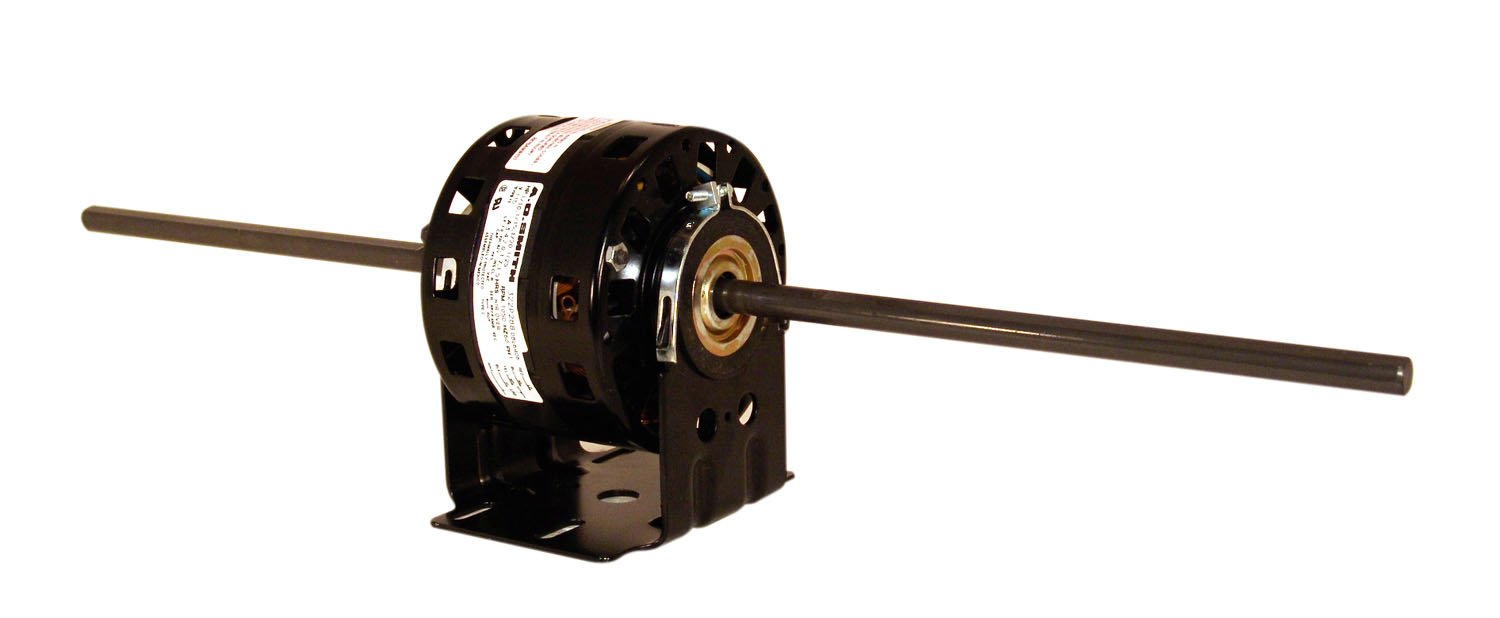 A.O. Smith DBL4404 1/10 HP, 1550 RPM, 3 Speed, 115 Volts 3.5-1.7-1.4 Amps, 42Y Frame, sleeve Bearing Direct Drive Blower Motor