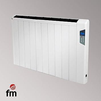 FM Calefacción Crono-Slim 1500 Piso, Pared 1500W Color blanco Radiador - Calefactor (