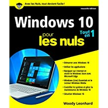 Windows 10 tout en 1 pour les Nuls, nouvelle édition
