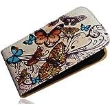 Handy Tasche Case Flip für Samsung Galaxy Express GT-i8730 / Handytasche Hülle Etui Schutzhülle JS M19