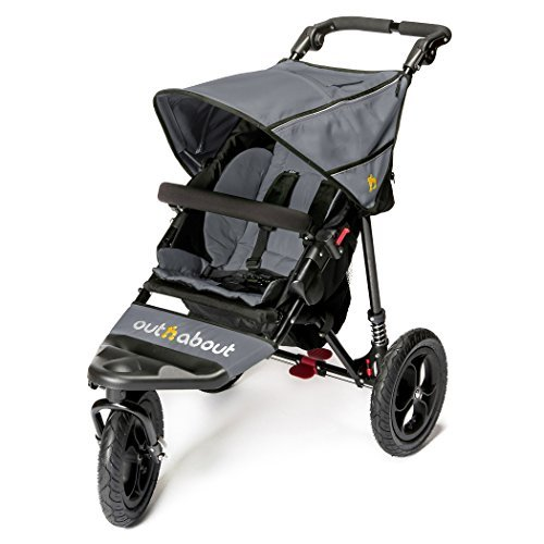 Out n About Nipper Single v4 Stroller Steel Grey