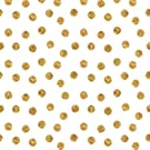 Szerensits' Baby Registry- Custom Changing Pad Cover- Scattered Gold Dots