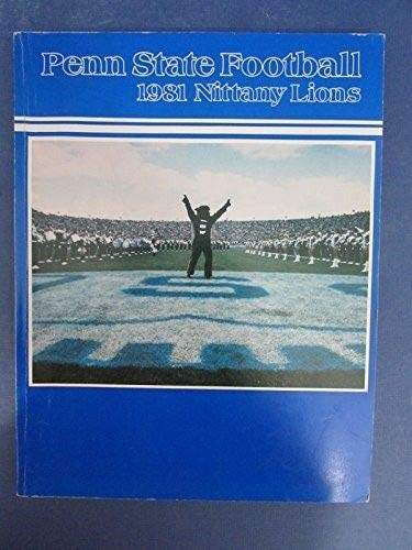 Penn State Nittany Lions PSU 1981 Football Yearbook Paterno 126733
