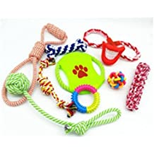 E-Z Go Best Interactive Dog Toys Value Pack, Puppy Toys, Dog Chew Toys, Pet Toys for Healthy & Happy Small, Medium and Large Dogs and Puppies