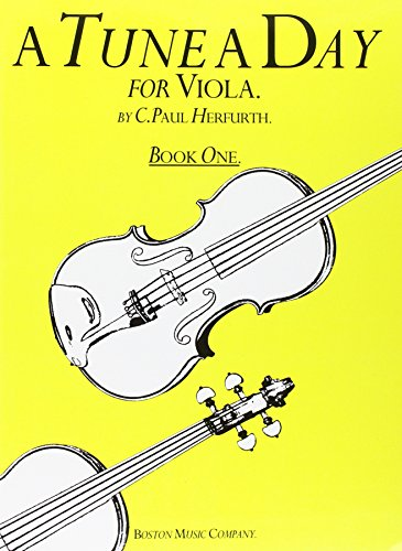 1 Revised Book - TUNE A DAY VIOLA BOOK 1      REVISED
