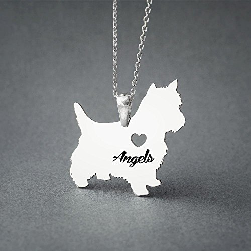 Personalized Yorkie Terrier Necklace