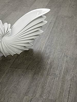 Smoked Sage Vinyl Flooring | Durable, Water-Resistant | Easy Install, Click-Lock | SAMPLE by GoHaus