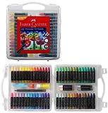Faber-Castell Premium Hexagonal Oil Pastel Set - Pack of 60
