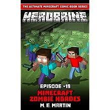 HEROBRINE Episode 19: Minecraft Zombie Horde (Herobrine Comic Book Series)
