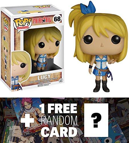Lucy: Funko POP! x Fairy Tail Vinyl Figure + 1 FREE Fairy Tail Trading Card Bundle [63559]