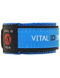 Child Safety Adjustable Wristband (Blue)