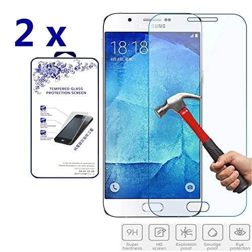 Tempered Glass for Samsung Galaxy A8 (Clear) - 7
