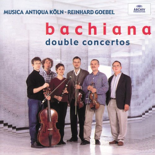 Price comparison product image Bachiana: Music By the Bach Family - Double Concertos