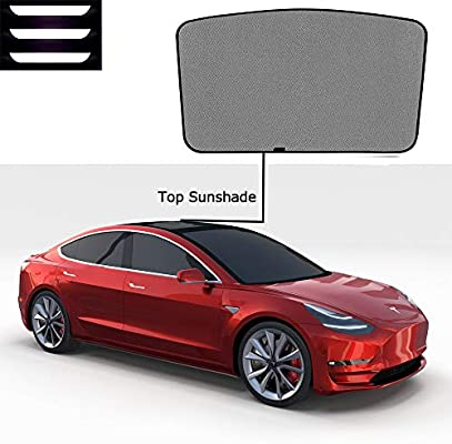 EVFIT Car Windows Sunshade Customize Tesla Model 3 Accessories ...
