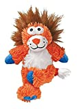 Cheap KONG Cross Knots Plush Squeaky Lion Dog Toy, Medium/Large