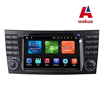 Wekuo 2G RAM Android 7.1 Coche DVD para Mercedes Benz Clase ...