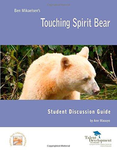 an analysis of touching spirit bear by ben mikaelsen ''touching spirit bear'' by ben mikaelsen is a provoking story about cole  matthews, a young man who beats up another boy he is sentenced to time on an .