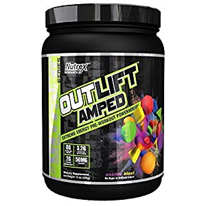Nutrex Research Outlift Amped | Premium Pre-Workout Focus