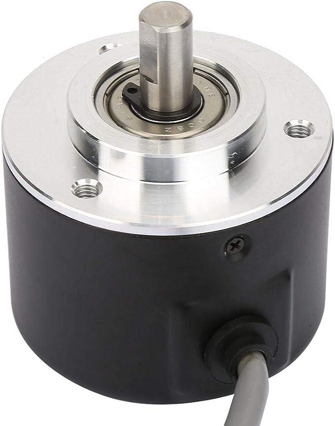 Incremental Rotary Encoder,E6C2-CWZ6C Incremental Rotary Encoder General-Purpose Encoder 50mm Diameter 5000P//R