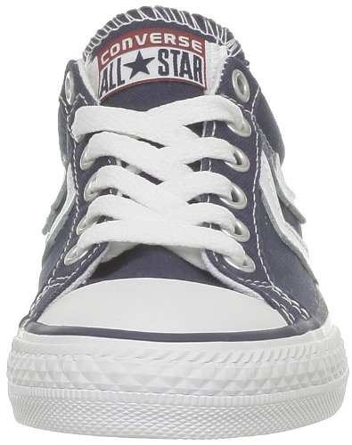 Ox Core Unisex Converse White Canv Trainers Navy Star Child Player qPFqIxnY4
