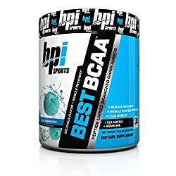 BPI Sports Best BCAA Powder, Green Fusion, 10.58 Ounce