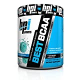 BBPI Sports Best BCAA Powder, Blue Raspberry, 10.58-Ounce