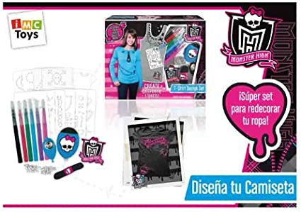 Amazon Com Fashion Angels Monster High T Shirt Design Set Toys Games